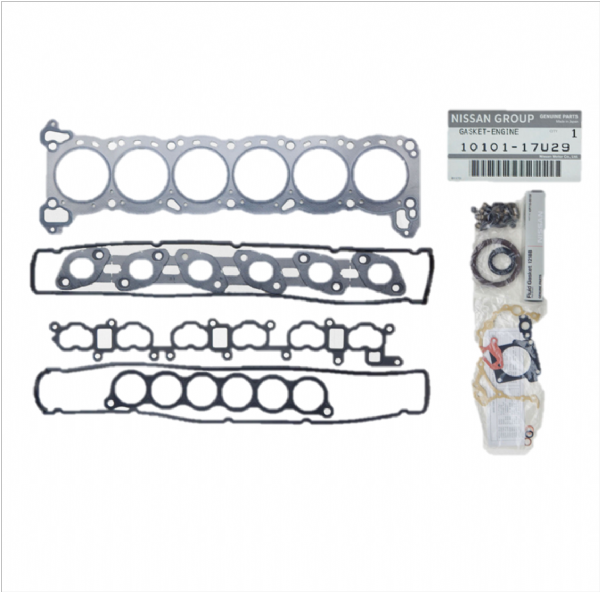 Genuine Nissan Skyline R33 GTST RB25DET Engine Gasket Kit 10101-17U29, 1010117U29